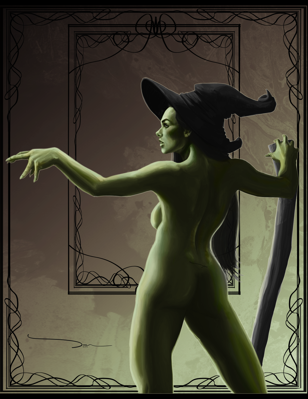 oz wizard dorothy of nude Rick and morty morticia porn