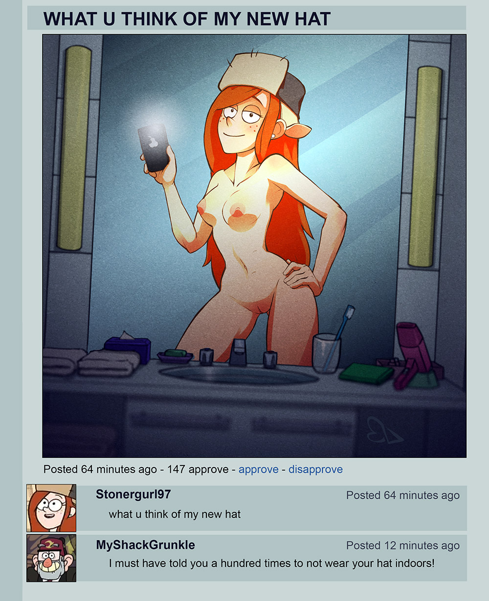 from gravity nude falls wendy Tram pararam xbooru marge simpson