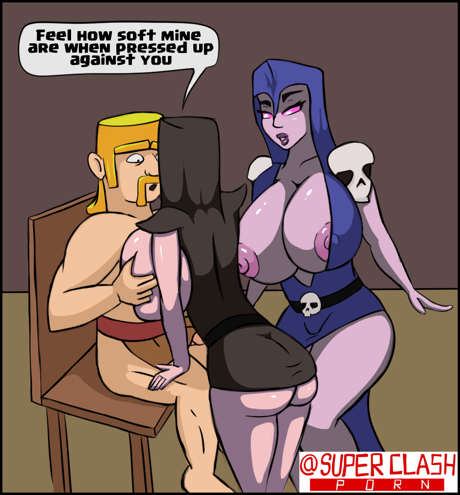 clash clans of trap skeleton Thigh highs for large thighs