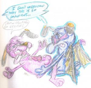 courage cowardly mlp dog the Tour guide from the underworld