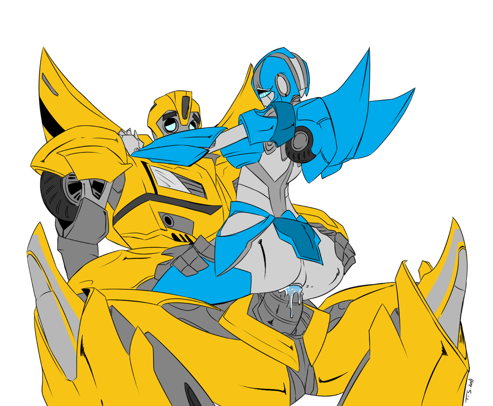 bumblebee arcee and prime transformers Oliver and company