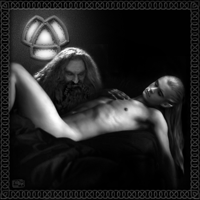 the yaoi lord of rings Scp 049 x scp 035