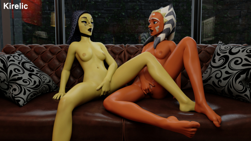 offee ahsoka tano x barriss Was uniqua from the backyardigans a woman of color