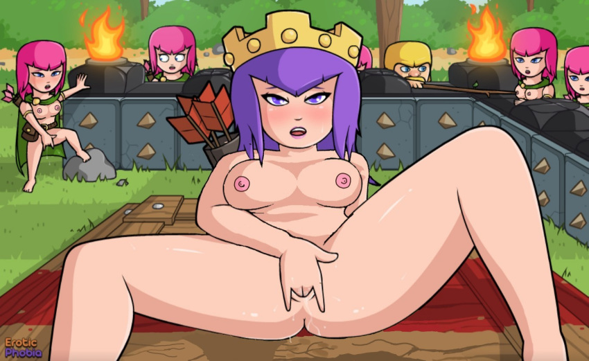 clans costumes clash archer of Dark magician girl breast expansion
