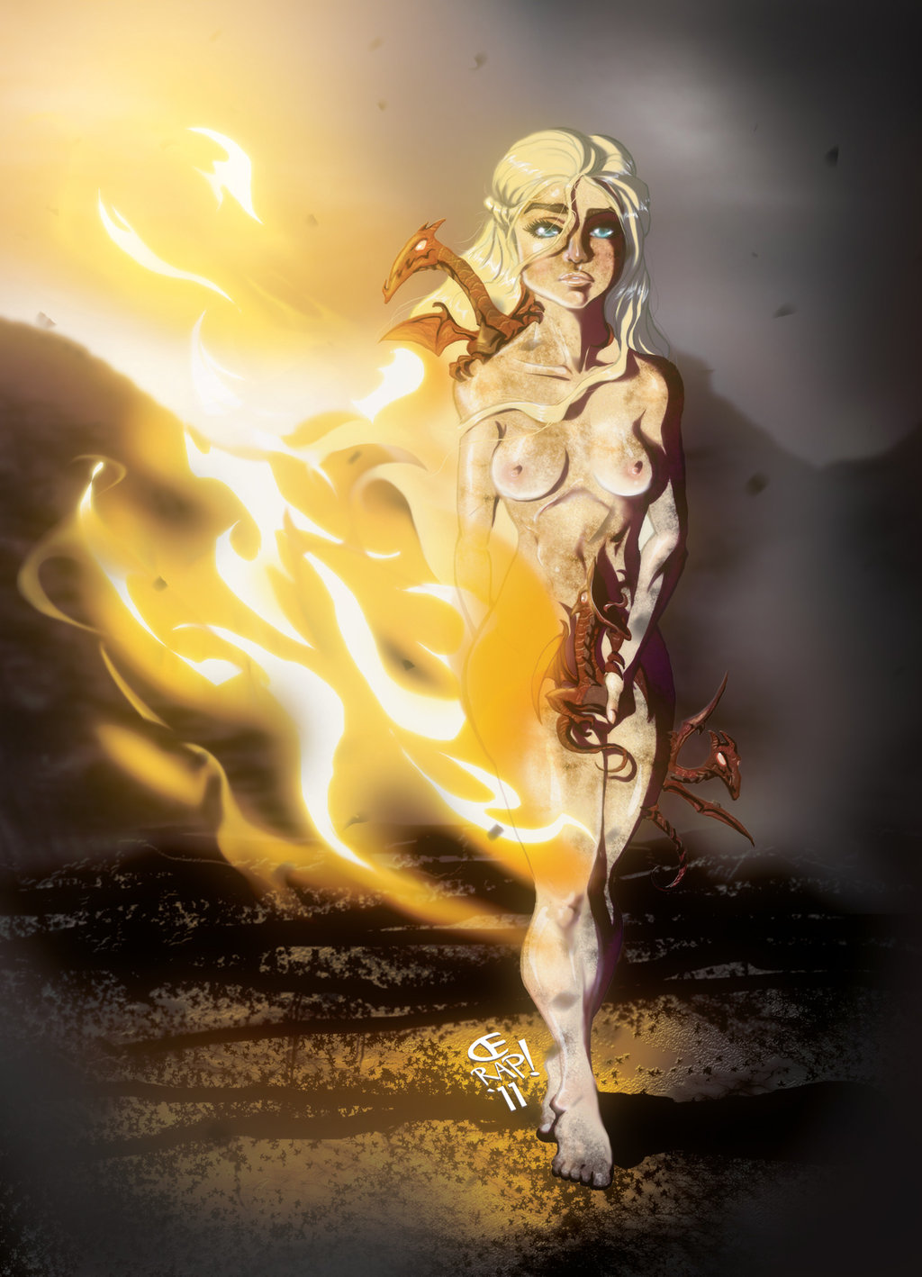 of ice fire and song a Final fantasy 12 nude mod