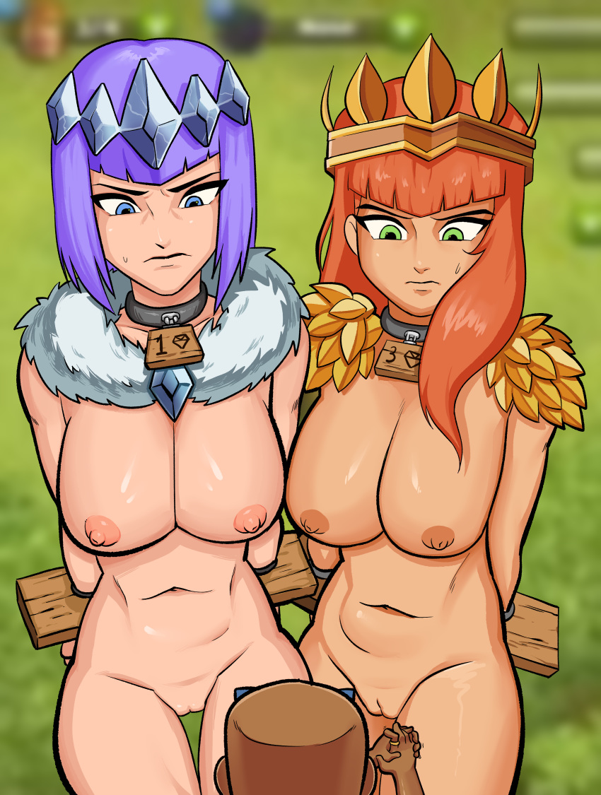 nude clash of valkyrie clans G.i.b. girls in black